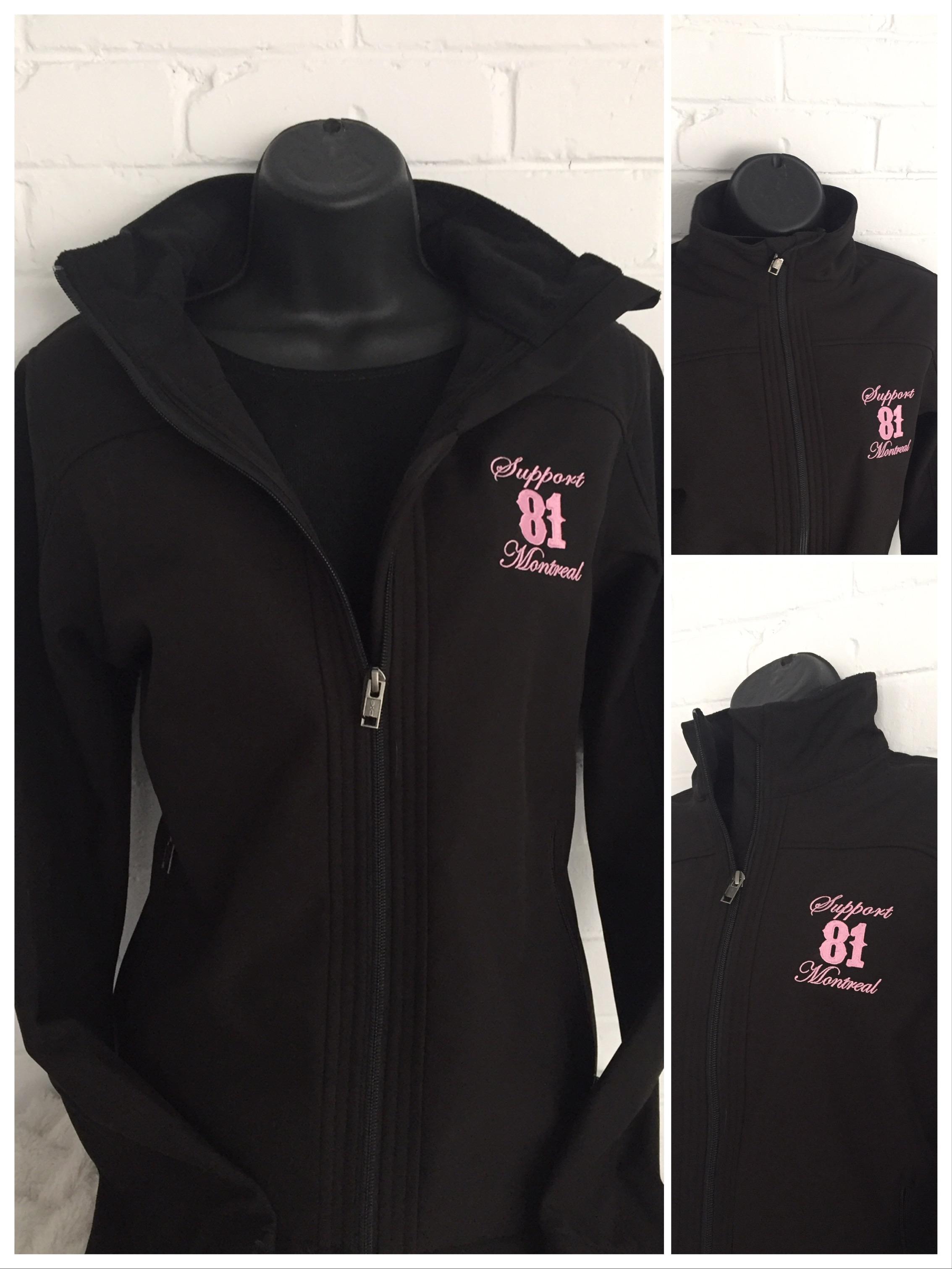 HMW-020 Women Jacket / BLACK