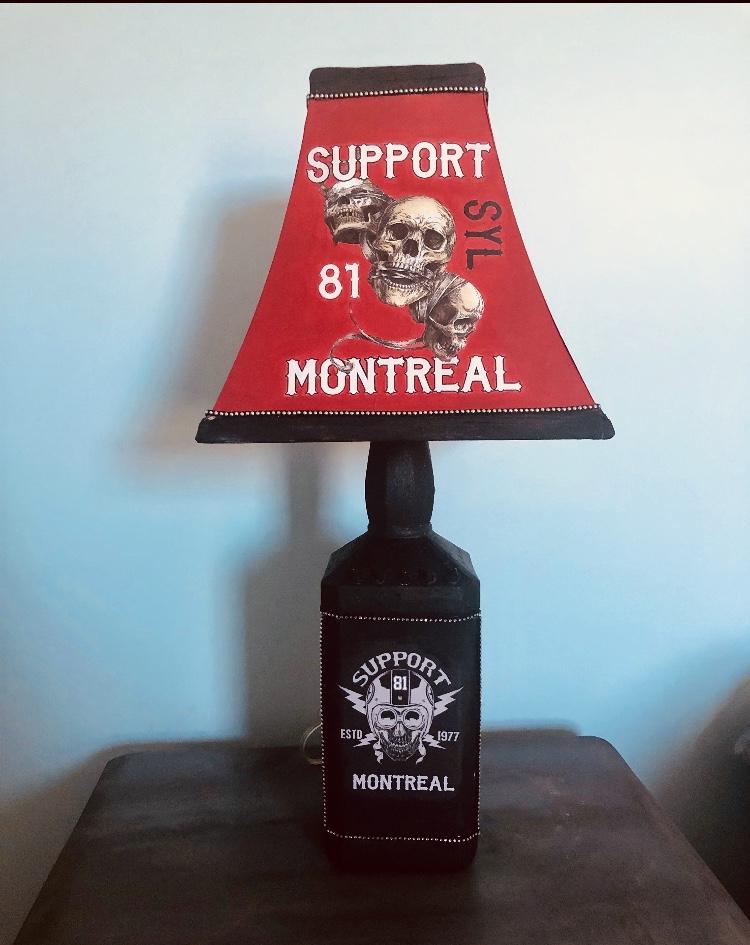 HMA-036 / LAMP / RED & BLACK